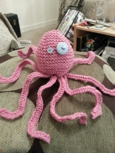 Aristotle The Octopus - Pink Edition
