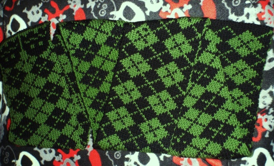 Green and Black Wonder Scarf